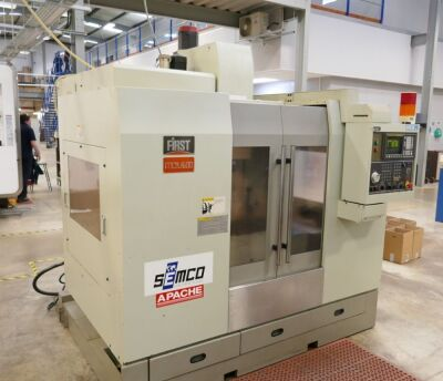 First (Semco) Apache MCV 600 Vertical Machining Centre
